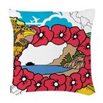 OYOOS Travel Vacation design Woven Throw Pillow