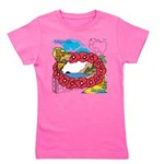 OYOOS Travel Vacation design Girl's Tee