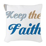 OYOOS Faith design Woven Throw Pillow