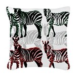 OYOOS Zebra design Woven Throw Pillow