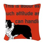 OYOOS Dog Attitude design Woven Throw Pillow