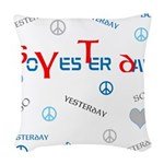 OYOOS SoYesterday design Woven Throw Pillow