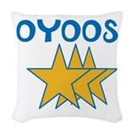 OYOOS Stars design Woven Throw Pillow