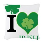 OYOOS Irish Heart design Woven Throw Pillow