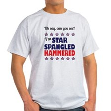 I'm Star Spangled Hammered T-Shirt