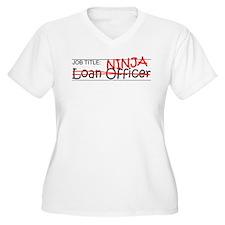 Job Ninja Loan Officer T-Shirt