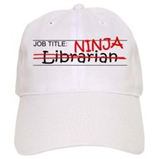 Job Ninja Librarian Baseball Cap