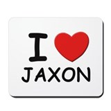 I love Jaxon Mousepad