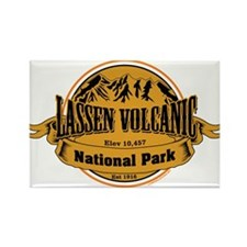 Lassen Volcanic, California Rectangle Magnet (10 p