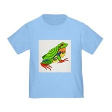 Swirly Frog T
