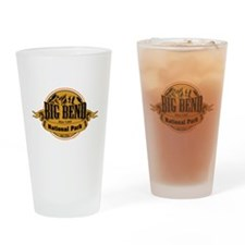 Big Bend, Texas Drinking Glass