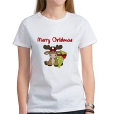 Merry Christmas with moose T-Shirt