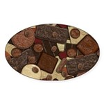 Got Chocolate? Sticker (Oval 50 pk)
