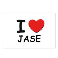 I love Jase Postcards (Package of 8)