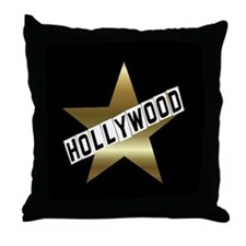 HOLLYWOOD California Hollywood Walk of Fame Throw