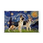 Starry Night - Two German Shepherds.png Rectangle