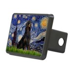 Starry Night & Gordon Rectangular Hitch Cover