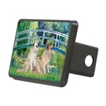 Great Pyrenees Pair - Bridge.png Rectangular Hitch