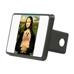 Lhasa Apso 9 - Mona Lisa.png Rectangular Hitch Cov
