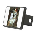 Ophelia #1 / Maltese (B) Rectangular Hitch Cover