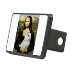 CARD-Mona-Maltese6.tif Rectangular Hitch Cover