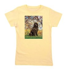 SPRING-Newfie-Brown... Girl's Tee