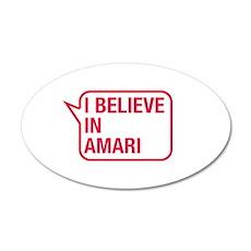 I Believe In Amari Wall Decal