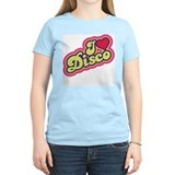 I Love Disco Women's Pink T-Shirt