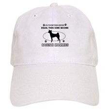 Funny Basenji dog mommy designs Baseball Cap