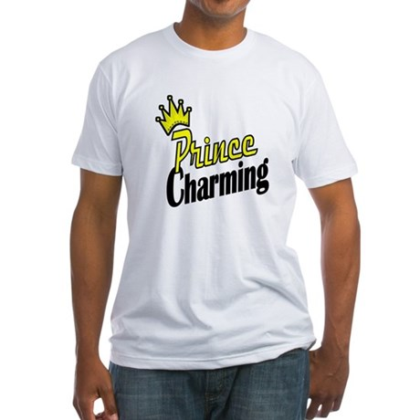 Prince Charming Fitted T-Shirt