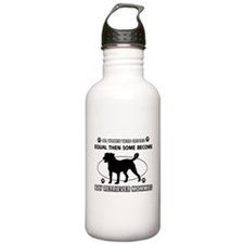 Funny Bay Retriever dog mommy designs Sports Water Bottle
