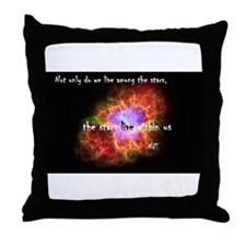 Neil deGrasse Tyson's Stardust Throw Pillow