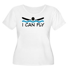 I can fly Plus Size T-Shirt
