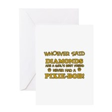 Pixie-Bob Cat breed designs Greeting Card