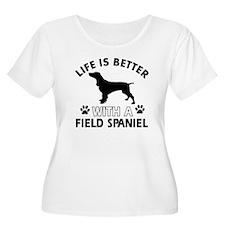 Field Spaniel dog gear T-Shirt