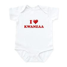 I LOVE KWANZAA KWANZA SHIRT M Onesie