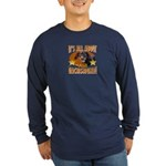 Dachshund Lover Long Sleeve Dark T-Shirt