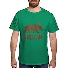 Bear+Deer=Beer Vintage T-Shirt