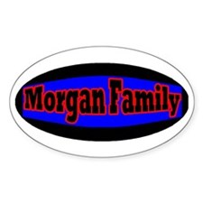 Morgan Oval Decal