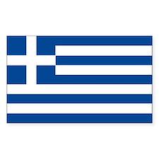 Greek Flag Decal