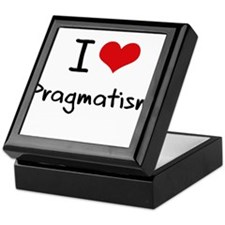 I Love Pragmatism Keepsake Box