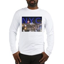 New York at Night Long Sleeve T-Shirt
