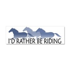 Cool Horse Car Magnet 10 x 3