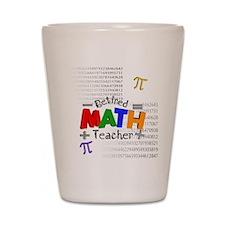 Retired Math Teacher 1 Shot Glass