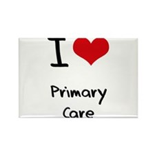 I Love Primary Care Rectangle Magnet