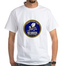 USN Seabees Gold Roped T-Shirt