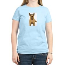Big German Shepherd! Women's Pink T-Shirt