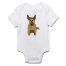 Big German Shepherd! Infant Bodysuit