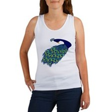 Preening Peacock Women's Tank Top