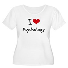 I Love Psychology Plus Size T-Shirt